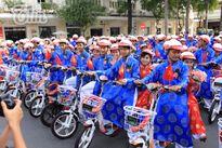 100 đôi uyên ương hạnh phúc trong đám cưới tập thể ở Sài Gòn