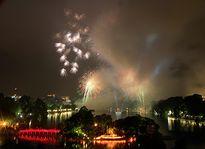 Rực rỡ pháo hoa chào mừng Quốc khánh