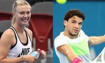 Sự nghiệp quần vợt của Dimitrov lụi tàn kể từ khi chia tay Sharapova