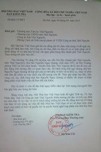 Chủ tịch tỉnh Thái Nguyên chỉ đạo khẩn trương làm rõ vụ nhà báo bị truy sát