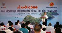 Khởi công dự án cấp điện trên không vượt biển dài nhất Việt Nam