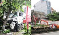 Điểm tin TNGT: Bị xe container tông, 5 người may mắn thoát chết