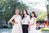 Hoa hậu U40 Giáng My trẻ như nữ sinh đi từ thiện