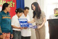 Hoa hậu đền Hùng Giáng My trao tặng 23 ngôi nhà cho hộ nghèo tỉnh Khánh Hòa