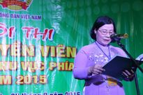20 tỉnh, thành tham dự Chung kết Hội thi tuyên truyền viên giỏi 2015 khu vực phía Nam