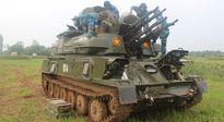 Hành quân, cơ động lực lượng, phương tiện và kíp chiến đấu PPK tự hành ZSU-23-4M1