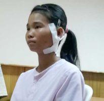 Bé gái 13 tuổi bị đạn bi xuyên vào cổ