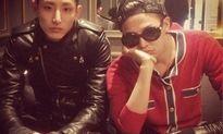 G-Dragon tặng mẫu nam Lee Soo Hyuk 'quà tình bạn' đắt giá