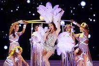 Hồ Ngọc Hà bốc lửa, lấn át dàn thí sinh hoa hậu trong phần diễn bikini