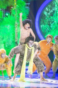 Hoàng Quân - Khương Ngọc giành giải nhất show đầu tiên Gương mặt thân quen nhí 2015
