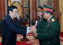Bộ Quốc phòng có thểm 2 Đại tướng