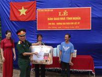 Ban CHQS huyện Ba Bể trao nhà tình nghĩa tặng thân nhân liệt sĩ