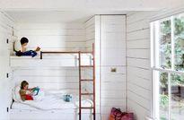 Khéo bài trí hai giường gọn xinh trong một phòng ngủ