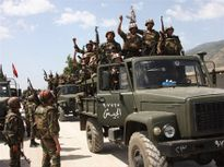 Nga tăng cường không kích IS yểm trợ quân đội Xy-ri