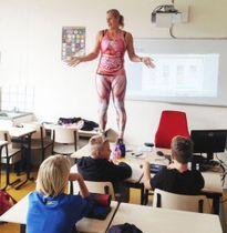 Cách dạy học trực quan có 1-0-2 của cô giáo dạy Sinh