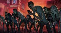 Những người biến mình thành nô lệ của điện thoại, chết lãng xẹt