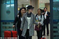Lưu Diệc Phi sang Hàn Quốc chúc mừng sinh nhật Song Seung Hun
