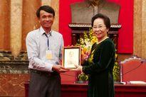 """Phó Chủ tịch nước Nguyễn Thị Doan: """"Nông dân ta rất giỏi và sáng tạo"""""""
