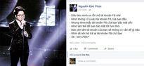 Facebook của quán quân Giọng Hát Việt 2015 vừa bị hack