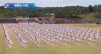 Đồng diễn Taekwondo hoành tráng tại Đại hội TTQS thế giới