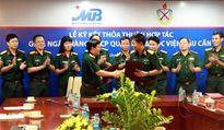 MB ký kết thỏa thuận hợp tác với Học viện Hậu cần