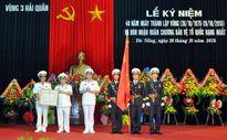 Vùng 3 Hải quân đón nhận Huân chương Bảo vệ Tổ quốc hạng Nhất