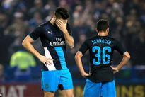 Arsenal bị hạ nhục