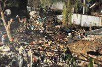 Vụ nổ 7 người thương vong: dùng bếp gas mini gần thùng hóa chất