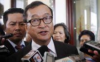 Campuchia phát lệnh bắt lãnh đạo đối lập Sam Rainsy