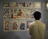 Triển lãm tranh về những nét đẹp trong đời sống người Việt