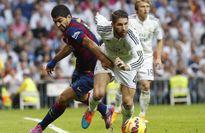 """Luis Suarez: """"Tôi sẽ không nhằm vai Ramos mà đá"""""""