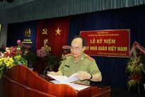 Các trường CAND phía Nam tổ chức mít tinh kỷ niệm Ngày Nhà giáo Việt Nam 20/11