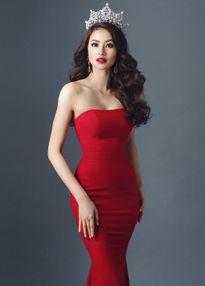 Phạm Hương đẹp rực rỡ tham dự Hoa hậu Hoàn vũ 2015