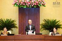 Chủ tịch Quốc hội Nguyễn Sinh Hùng là Chủ tịch Hội đồng bầu cử quốc gia