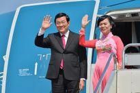 Chủ tịch nước Trương Tấn Sang lên đường thăm Đức