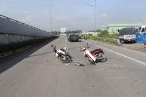 15 tuổi lái xe gây tai nạn, 2 người nguy kịch