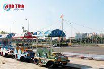 Manh mún sân chơi trẻ em ở thành phố Hà Tĩnh