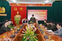 Thứ trưởng Bùi Văn Nam kiểm tra công tác tại Tuyên Quang
