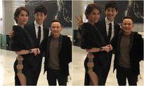 Diện váy cắt xẻ táo bạo, Ngọc Trinh khiến Kim Jae Won cũng phải 'nhìn lén'