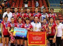 Thông tin Liên Việt Post Bank thống trị bóng chuyền nữ: Dấu ấn thầy Long