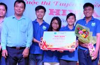 Đại học CSND đạt giải Nhì cuộc thi tuyên truyền phòng chống HIV/AIDS