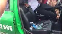 Thuê xe taxi rồi đâm liên tiếp tài xế