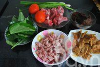 Nấu bánh đa cua đúng chất Hải Phòng