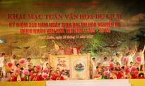 Nhiều hoạt động ý nghĩa kỷ niệm 250 năm ngày sinh Đại thi hào Nguyễn Du