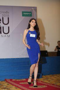 Chùm ảnh: Ngẩn ngơ trước vẻ đẹp của Á hậu Hoa khôi thể thao Hà Giang