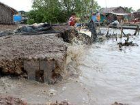Xâm thực bờ biển tại Thừa Thiên-Huế ngày càng nghiêm trọng