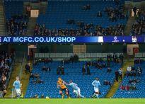 Sân Etihad vắng khán giả ngày Man City đại thắng Hull