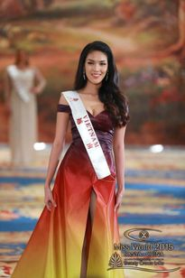 Thành tích đầu tiên của Lan Khuê tại Miss World 2015