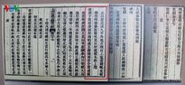 Một số hình ảnh Châu bản, Mộc bản lưu giữ chính sử triều Nguyễn