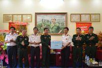 Thượng tướng Nguyễn Thành Cung thăm, kiểm tra các đơn vị đóng quân trên địa bàn đảo Phú Quốc